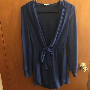 Royal blue Tobi Romper